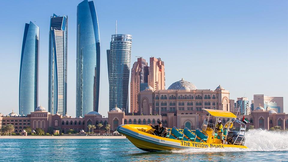 60 Minutes Boat Tour- Emirates Palace Marina, Corniche, Lulu Island (Abu Dhabi),Yellow Boats (Abu Dhabi),Boat Tours, Special Offers