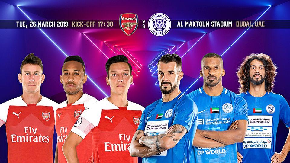 Al Nasr F.C. VS Arsenal F.C.,Al Maktoum Stadium,Sports Events