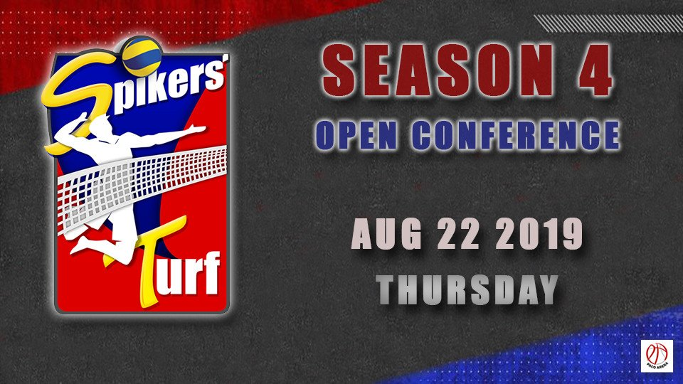 Aug 22- Spikers Turf Open Conference Season 4,Paco Arena,SỰ KIỆN THỂ THAO