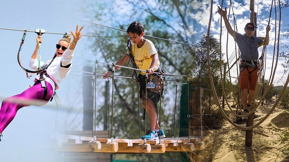 Aventura - The Nature Adventure Park,Aventura Park,Experiences