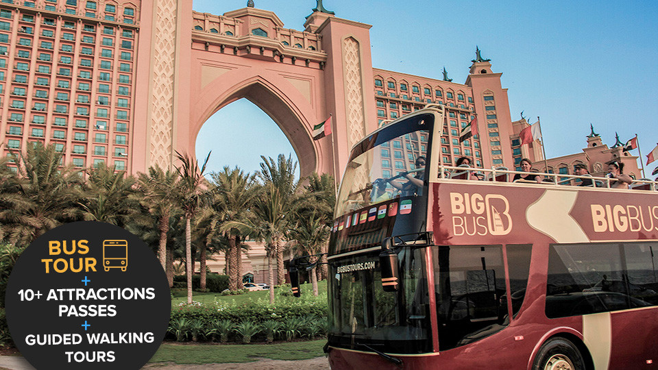 Dubai Hop-On-Hop-Off Big Bus Tour,Dubai,Sightseeing