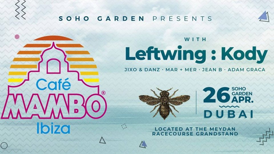Cafe Mambo with Leftwing:Kody 26th April,Soho Garden,Underground