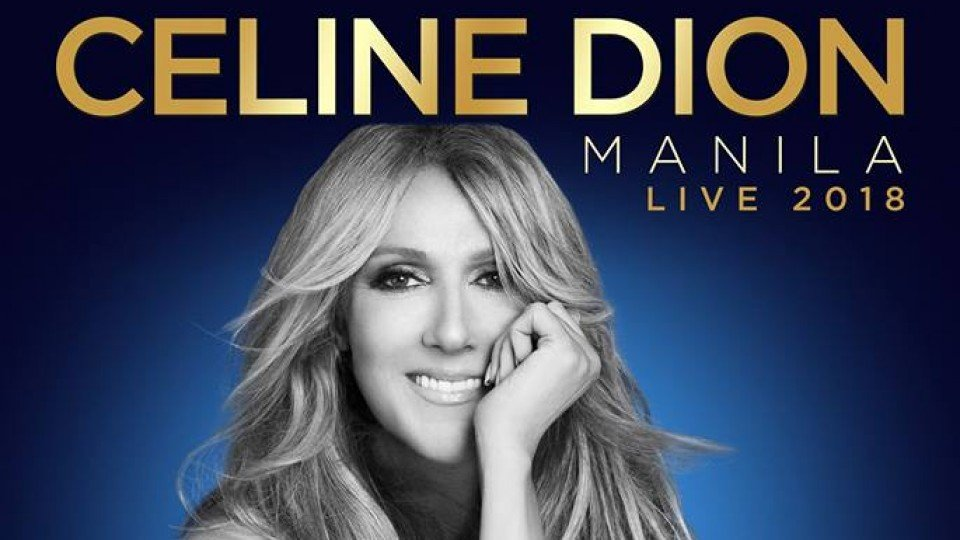 Celine Dion Live in Manila,Mall Of Asia Arena,Concerts