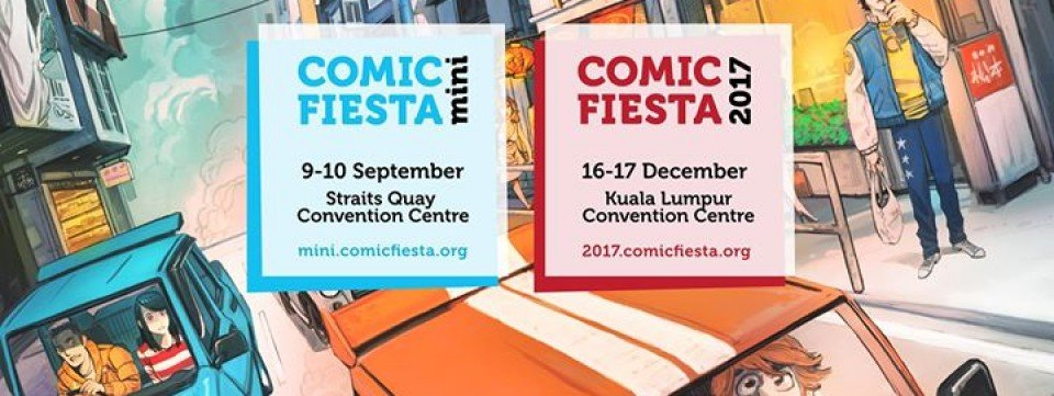Comic Fiesta 2017 [Official Event Page],Kuala Lumpur Convention Centre,Nightlife, Exhibitions, Art