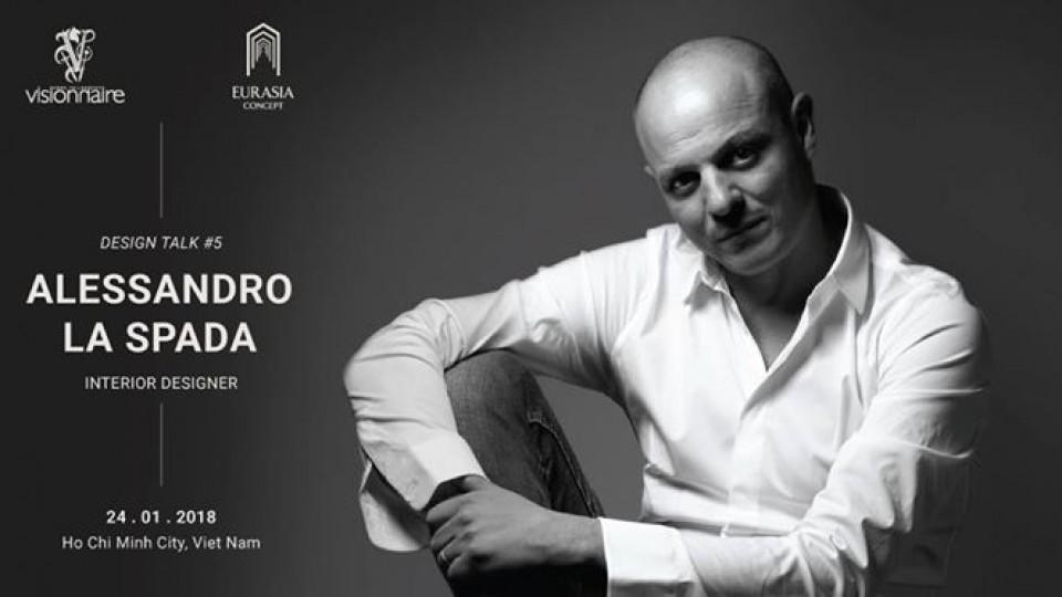 Design Talk #5 ft. Alessandro La Spada,Eurasia Concept,Seminar