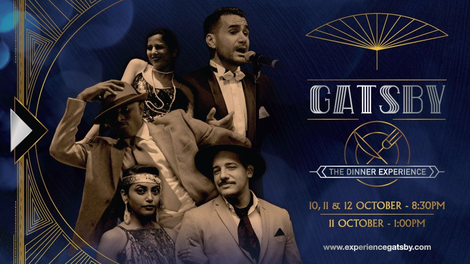 Gatsby: The Dinner Experience,Queen Elizabeth 2,Shows