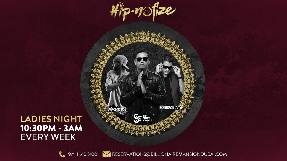 Hip*notize featuring Mr Shef Codes, Kaboo & Skinny Loop 18.10,Billionaire Mansion,Urban