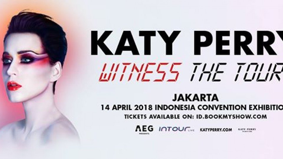 Katy Perry Witness: The Tour 2018 Jakarta,Jakarta
