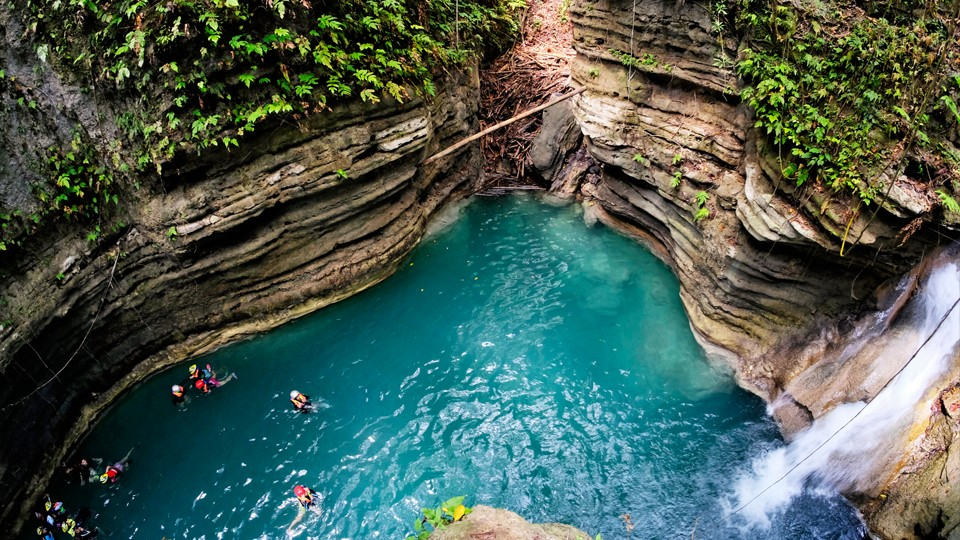 Canyoneering + Kawasan Falls,Cebu City,Tours