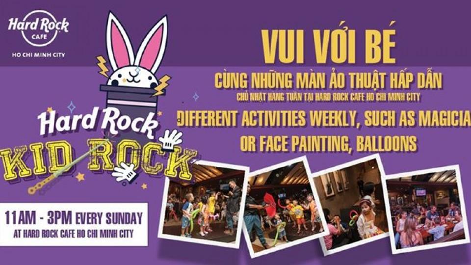 Kid Rock Event,Hard Rock Cafe Saigon,Kids Events