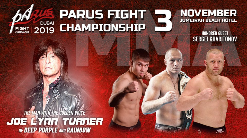 MMA: Parus Fight Championship 2019,Jumeirah Beach Hotel,Sports Events, Russian Events