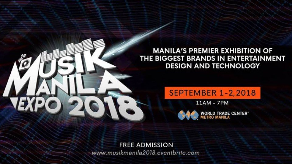Musik Manila - Pro Audio, Video, Lighting Expo / Line Array Demo,World Trade Center Manila,Exhibitions