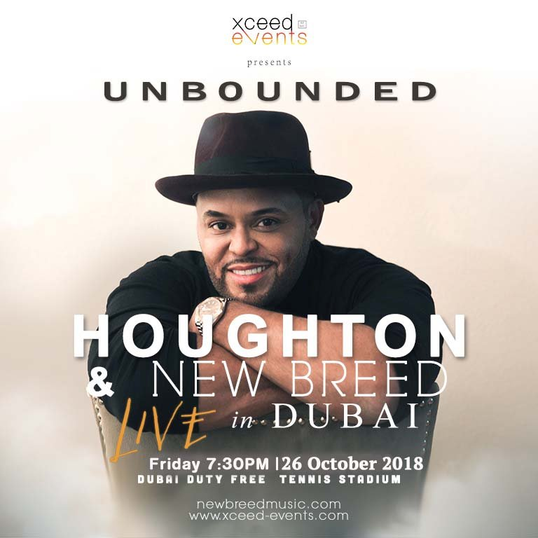 Unbounded Concert by Houghton and New Breed - Platinumlist net