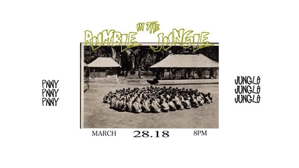 "Rumble In the Jungle vol.2 ""Tomcat Edition"",Jungle Bali,EDM"
