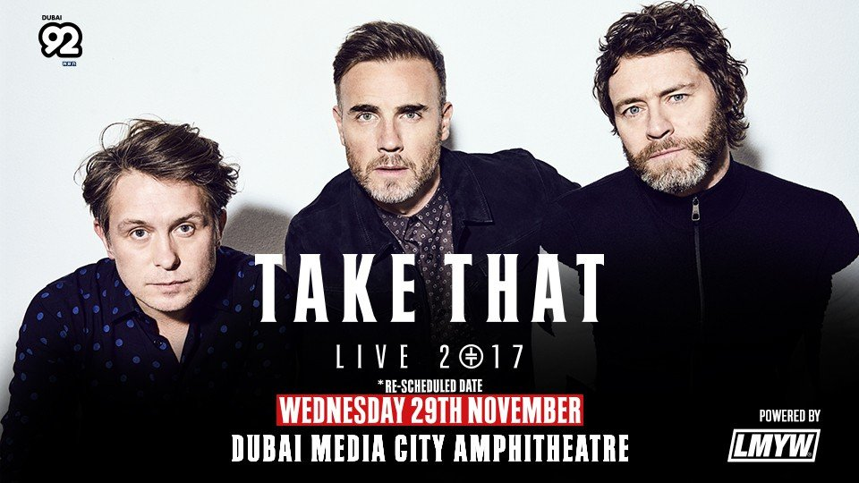 Take That Live in Dubai,Dubai