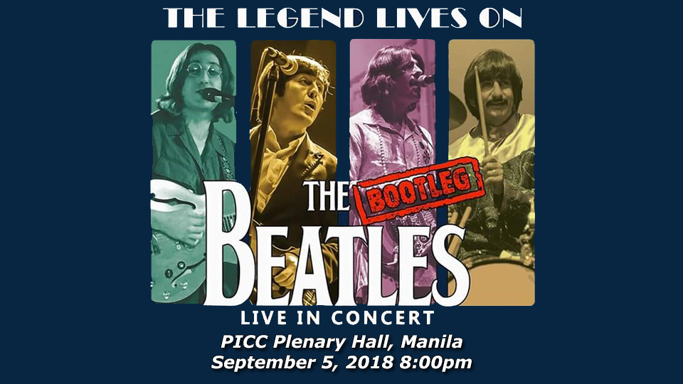 The Bootleg Beatles Live in Manila,PICC Plenary Hall,Concerts
