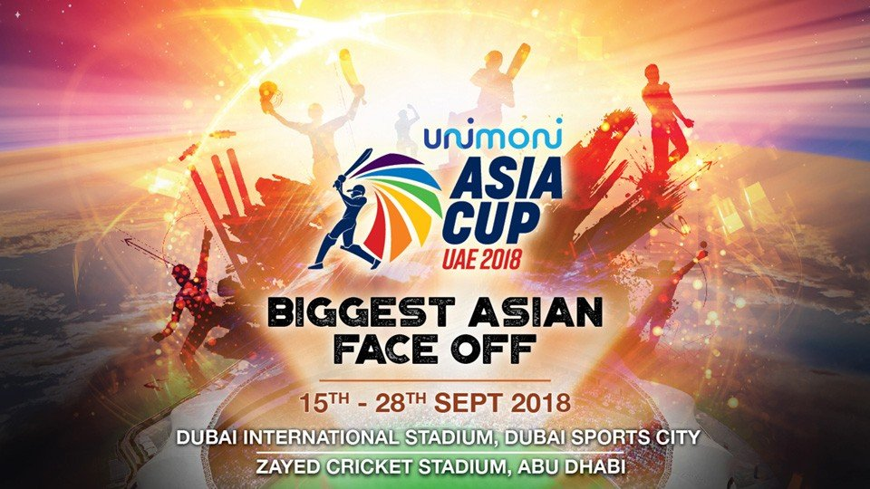 Unimoni Asia Cup 2018 - Dubai ( Final Batch Release ),Dubai International Stadium,Asia Cup, Sports Events